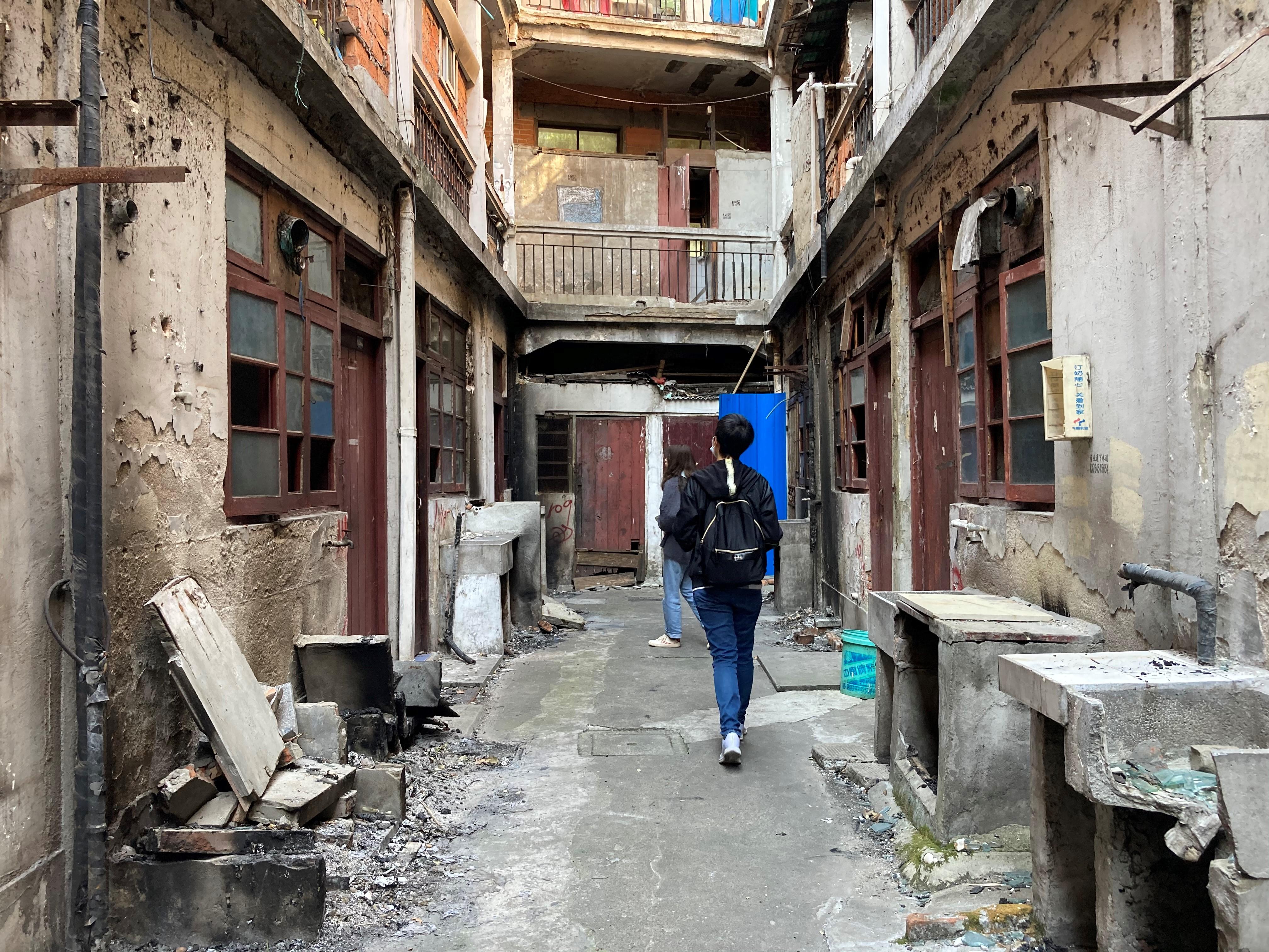 探访上海造币厂旁的老弄堂。 btr 摄