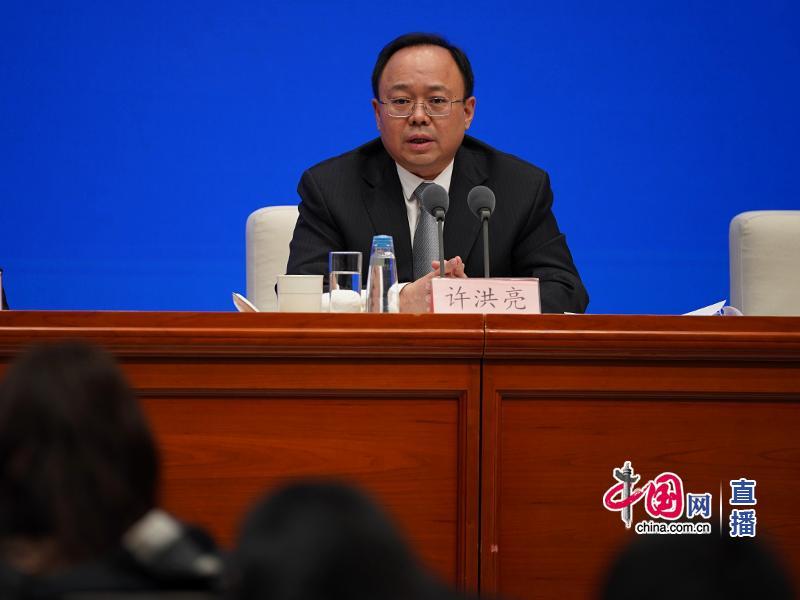 国家航天局新闻发言人许洪亮回答记者提问 中国网 图