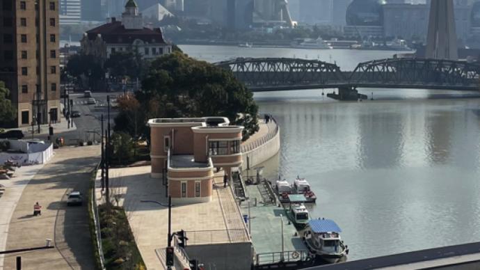 """短短九百米却""""移步换景"""",上海苏州河虹口段年底前对外开放"""