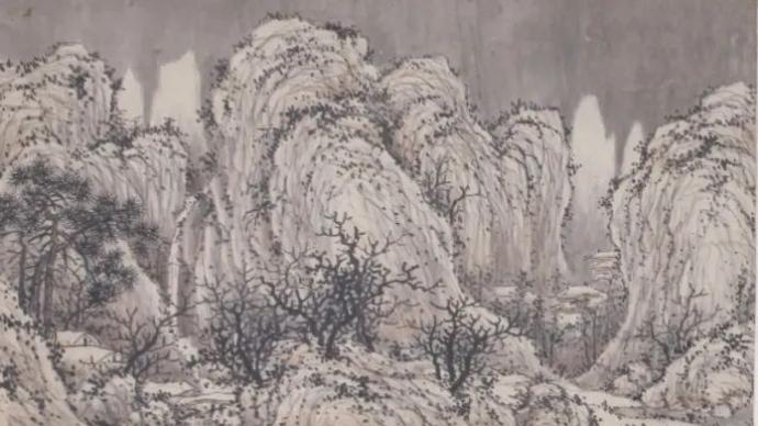 """文征明謝時臣等筆下的雪意,吉林省博物院今展""""萬里雪飄"""""""