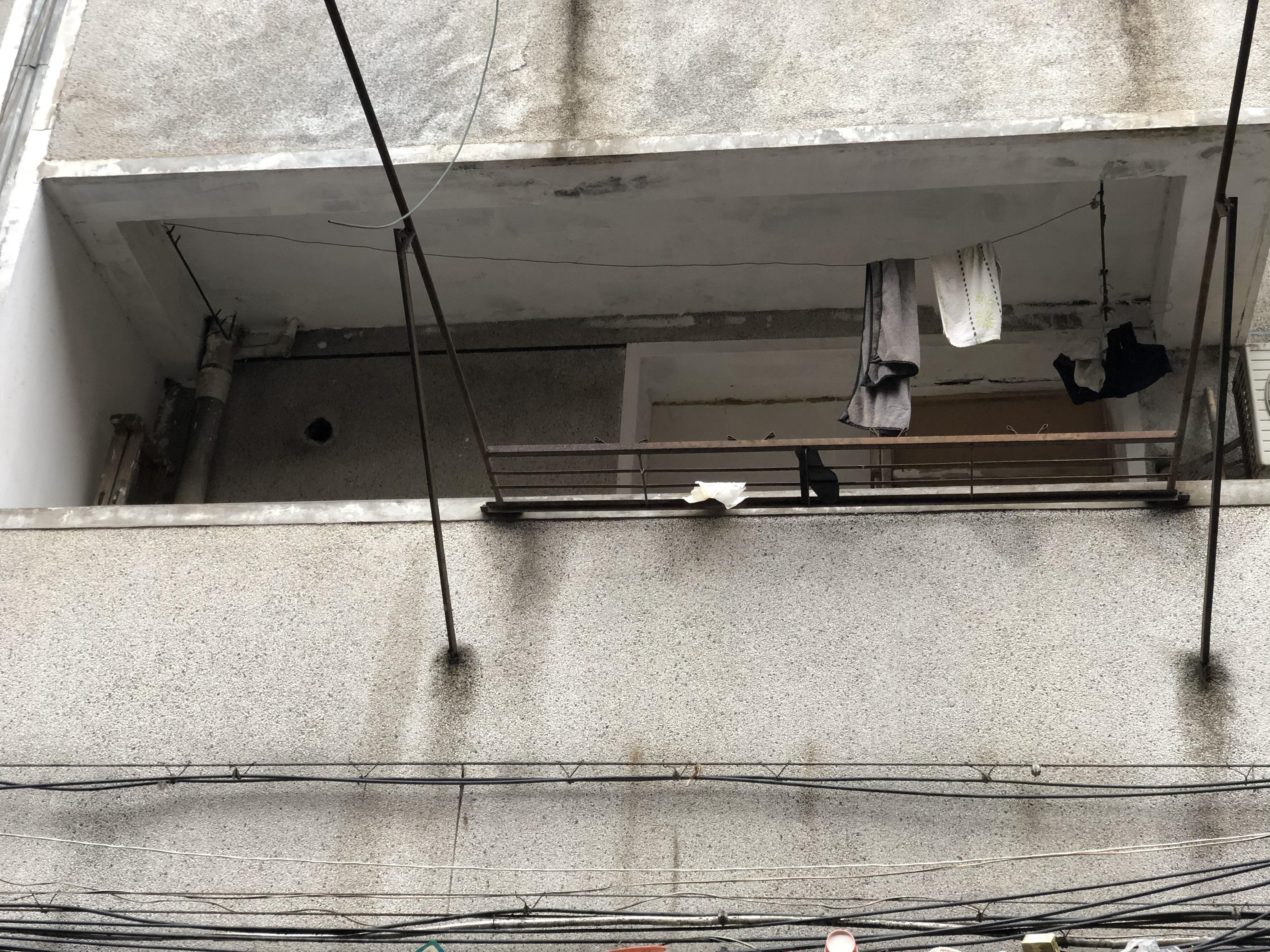 合肥案发生地,法子英劳荣枝曾租住于虹桥小学恢复楼2楼某间。澎湃新闻记者 卫佳铭 摄