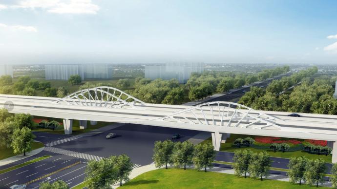 臨港新片區12個市政交通項目集中開工,計劃總投資超34億