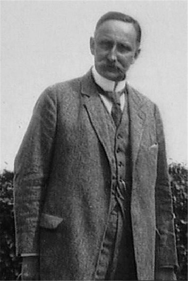 德国地政学家卡尔‧豪斯霍弗(Karl Haushofer,1869-1946)
