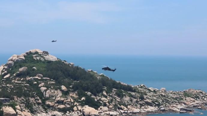 視頻丨精準打擊島礁目標,陸航旅閩南演練登陸作戰
