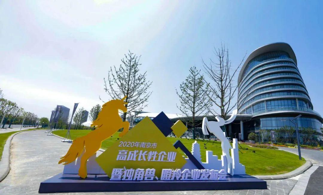 4月29日下午,2020年南京市独角兽、瞪羚企业发布暨高成长性企业培育推进会举行。南报融媒体记者 崔晓 冯芃摄