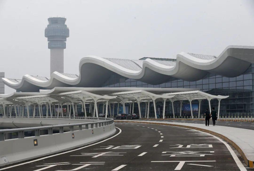 禄口机场T1航站楼投入使用。通讯员 吕妍 南报融媒体记者 徐琦摄