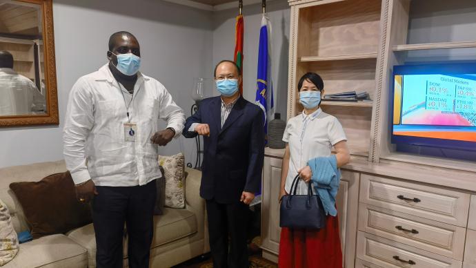 韋宏添履新駐格林納達大使,6年前帶隊恢復駐索馬里大使館