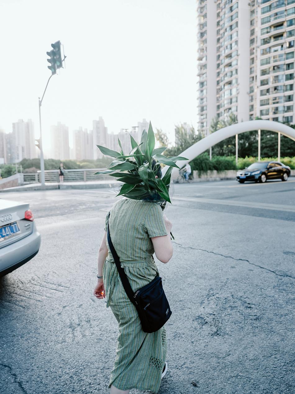 昌化路桥,上海普陀区昌化路,2020年8月15日。