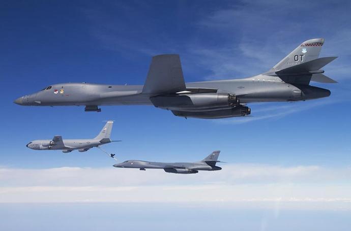 B-1B轟炸機今年頻繁在西太活動。