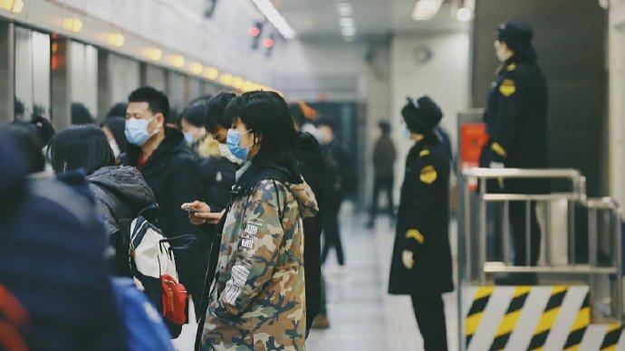 北京地鐵最快100秒一趟達極限,采取限流措施嚴控滿載率