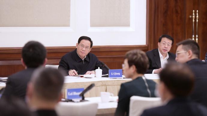 投資中國投資上海依然是最優選擇!李強龔正與外企高管座談