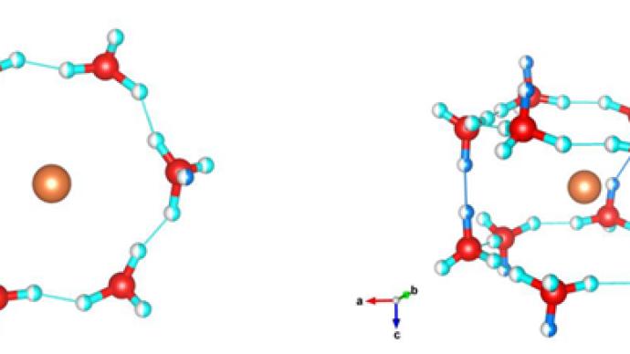 中科院團隊發現新型氫水化合物,成果登上《物理學評論快報》