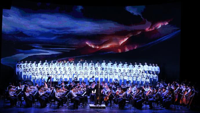 上海音樂學院再演《長征組歌》,校內公開選拔優秀學子獻演