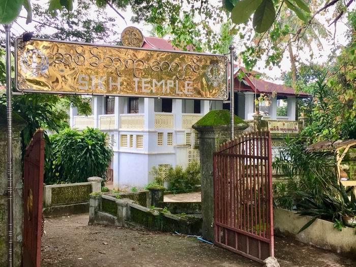 缅甸毛淡棉锡克庙,作者2016年摄