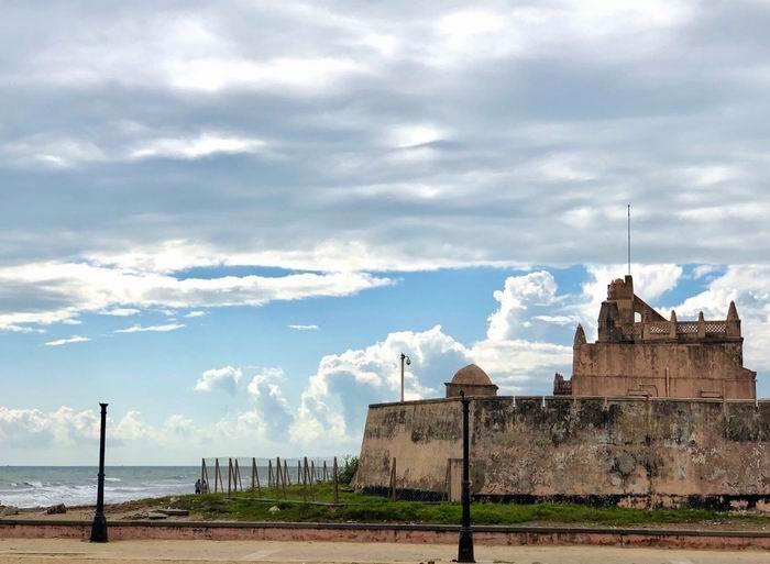 印度特兰奎巴星型要塞,作者2019年摄
