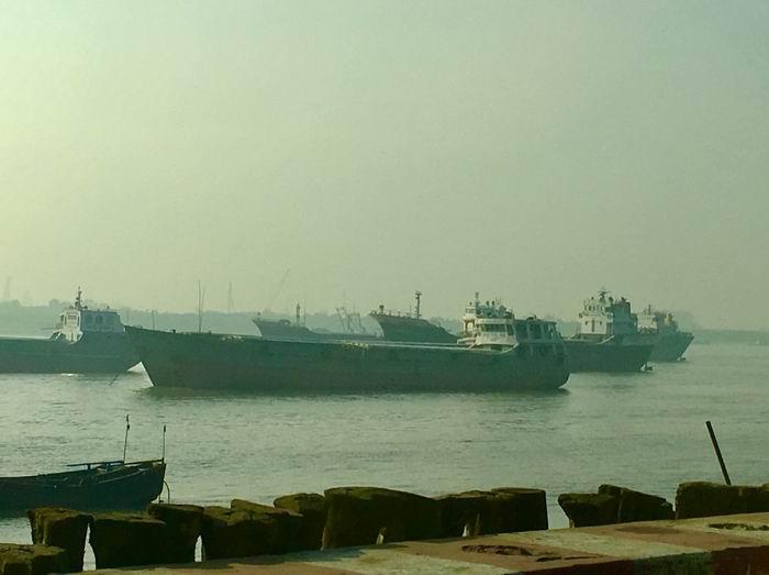 孟加拉国吉大港斯塔肯度(Sitakundu)拆船基地,作者2018年摄