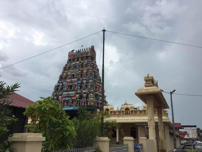 马来西亚麻坡梅里亚姆大道印度庙,作者2015年摄