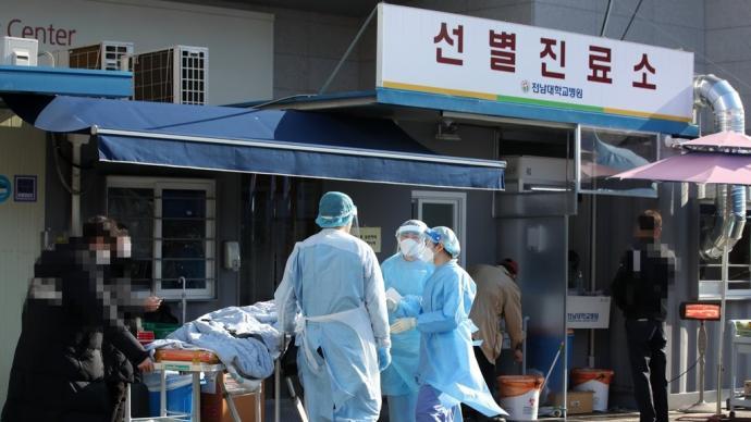 韩媒:韩逾三成群聚性新冠确诊病例与宗教活动有关