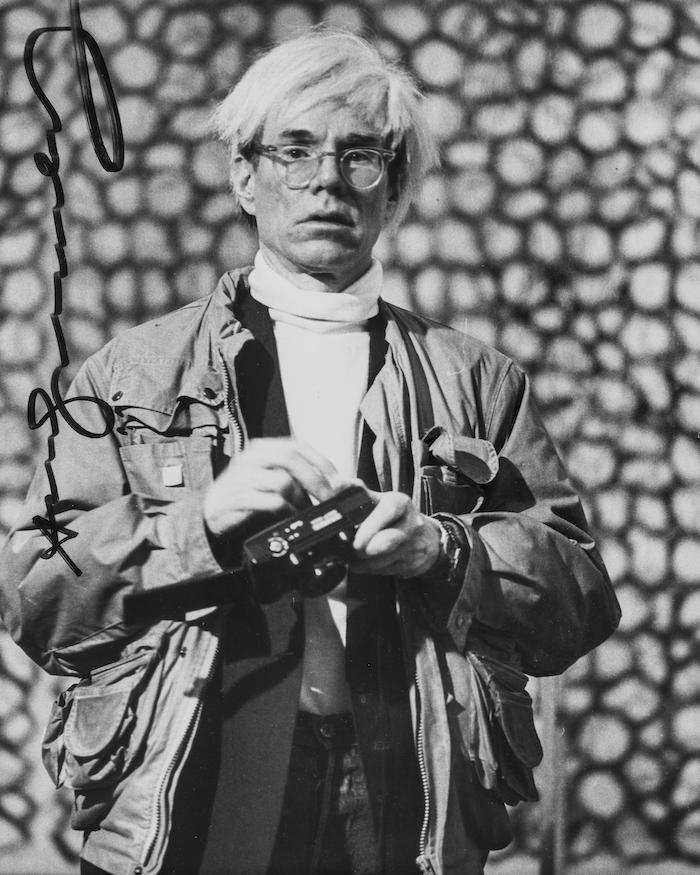 安迪·沃霍尔在马德里,摄影,1982年