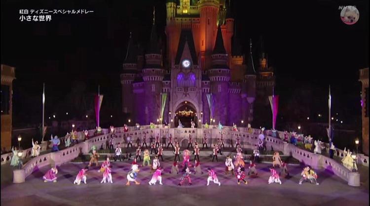 舞台搬到迪士尼