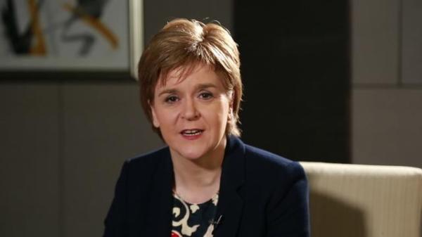 蘇格蘭首席大臣尼古拉·斯特金 資料圖