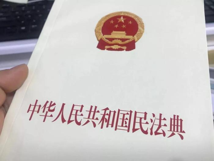 《中华人民共和国民法典》。王珊珊 摄