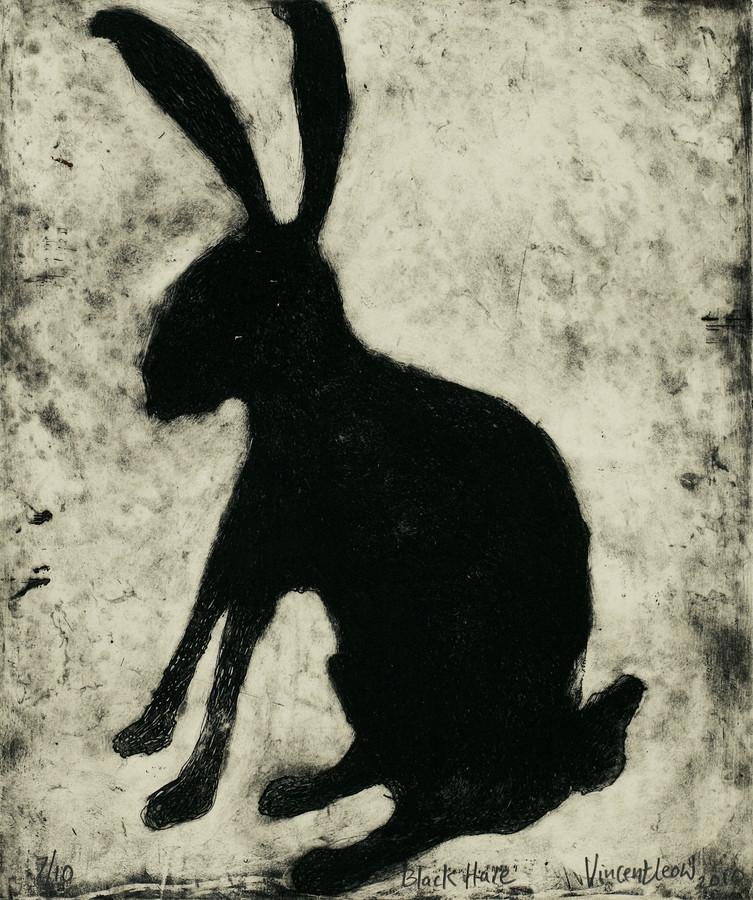 廖芳炎《黑野兔》2010
