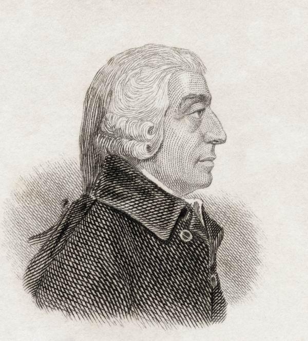 亚当·斯密(1723-1790)