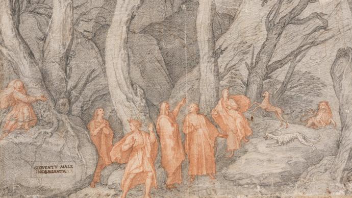 紀念但丁逝世七百周年,近百幅《神曲》插圖呈現于烏菲齊