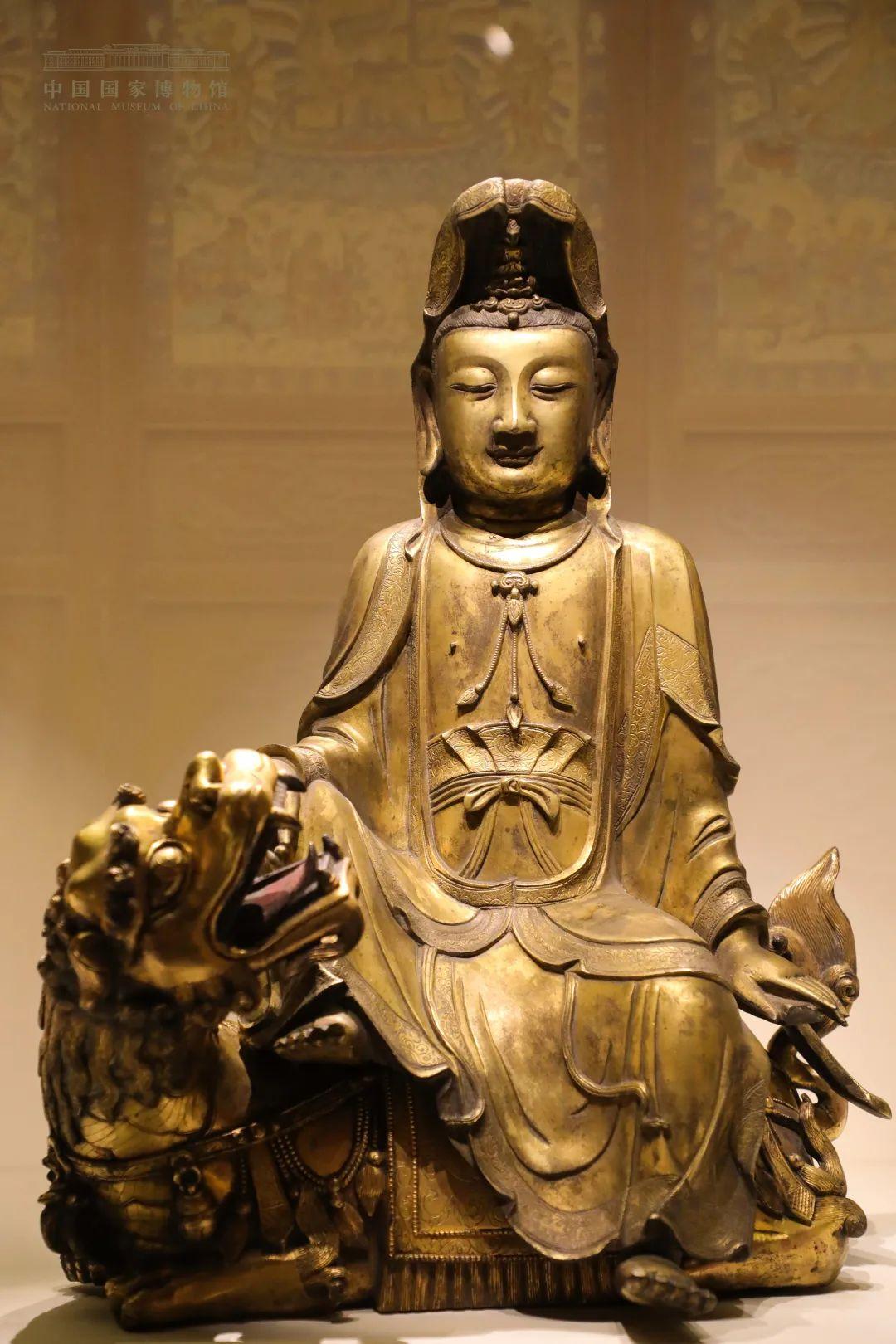 展出的佛造像文物
