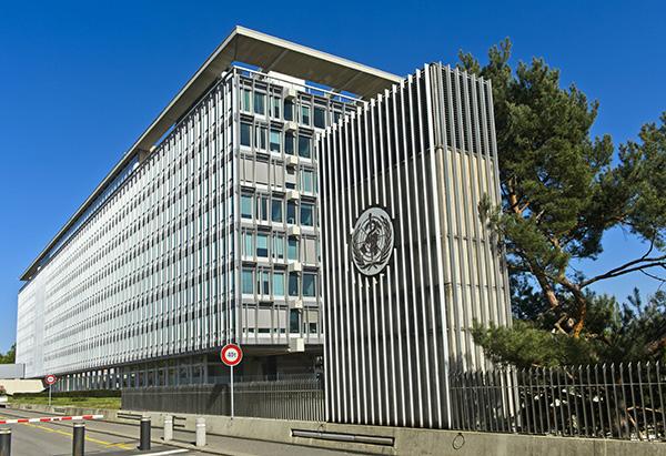 瑞士日内瓦,世界卫生组织总部。人民视觉 资料图