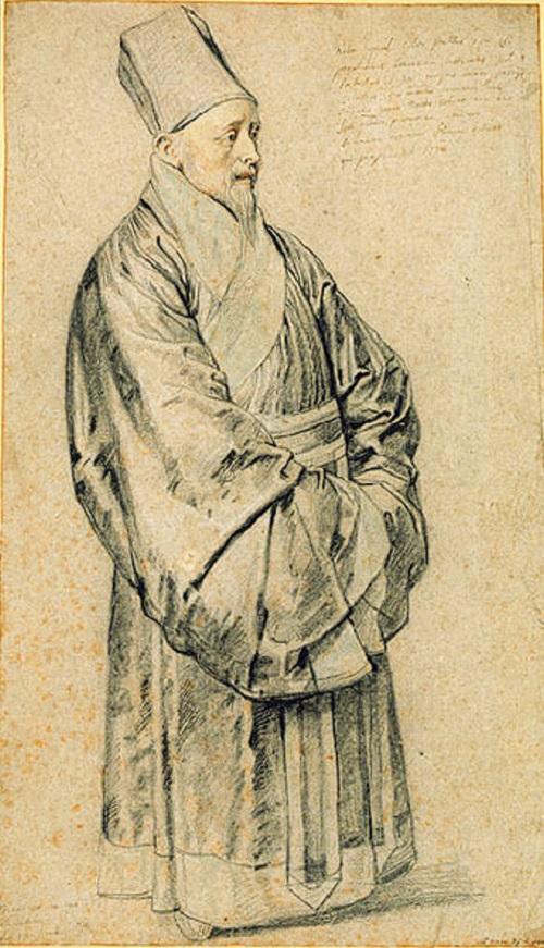 法兰西耶稣会教士金尼阁(Nicolas Trigault, 1577–1628)