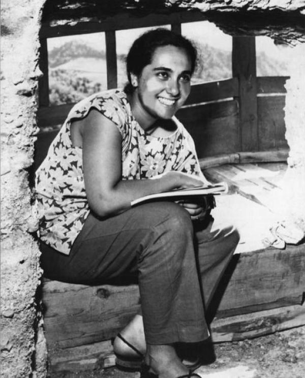 1957年塔帕尔在中国考察