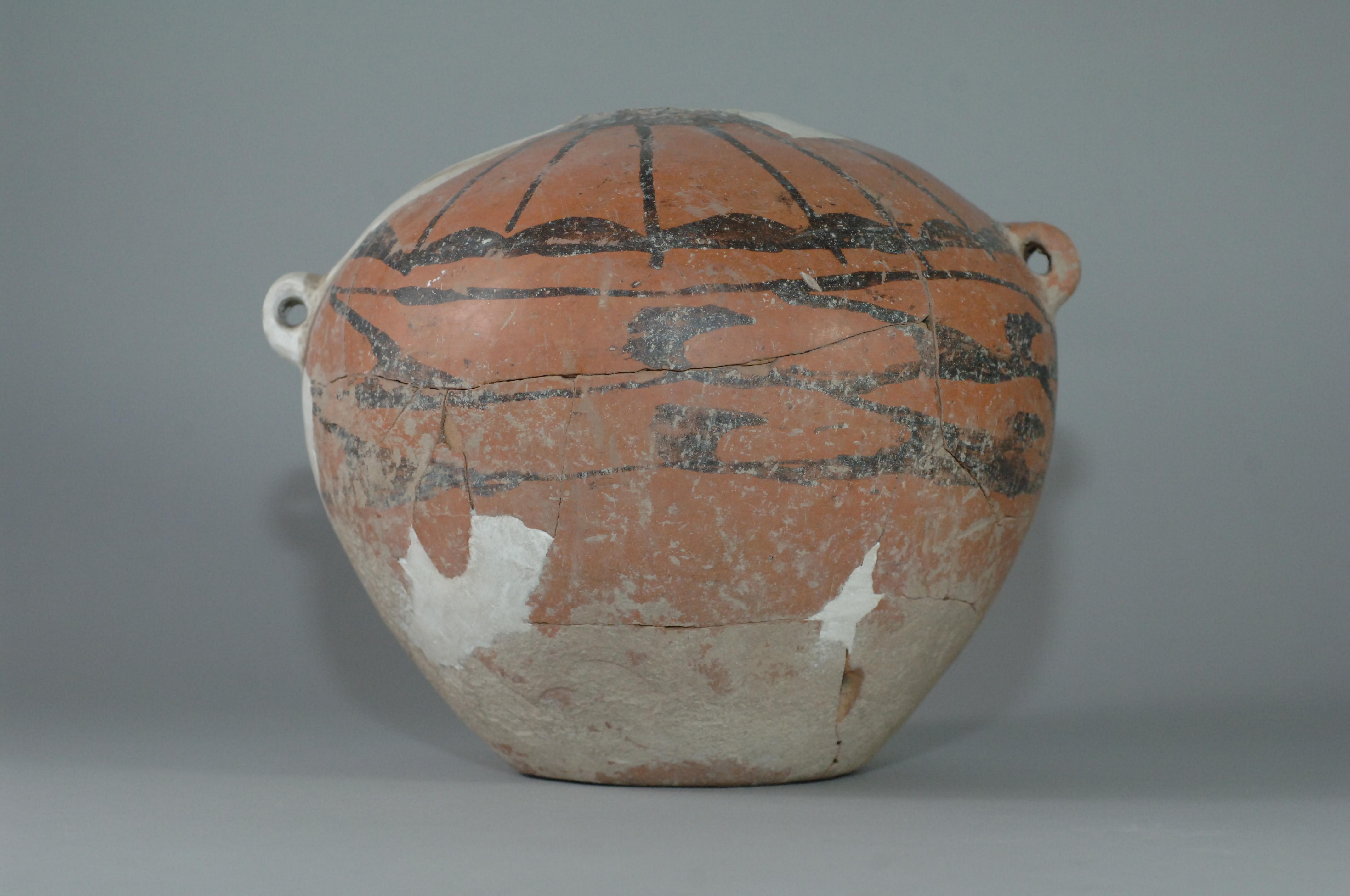 彩陶罐 红山文化