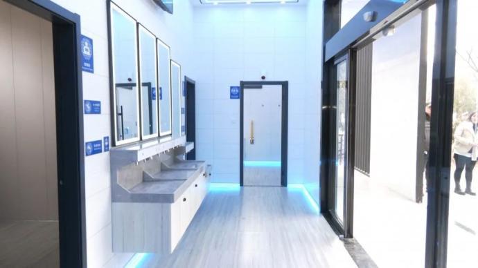 无锡现智能公厕:有晕倒报警系统、一客一保洁,造价130万