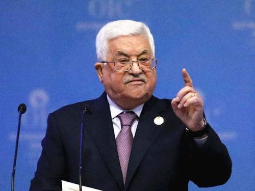 巴勒斯坦总统阿巴斯