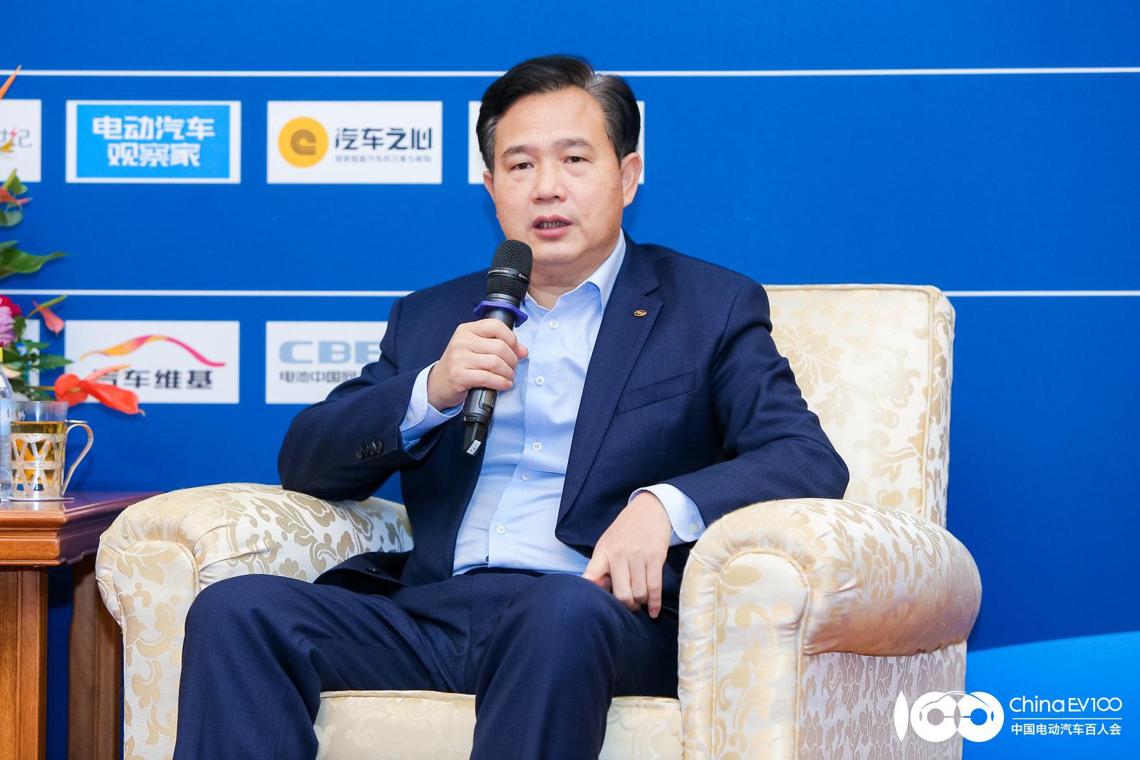 广汽埃安新能源汽车有限公司总经理古惠南