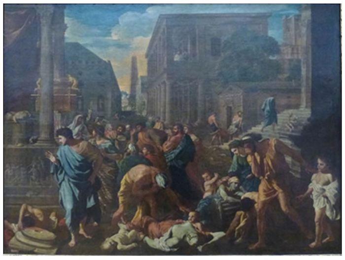 阿什杜德的瘟疫(尼古拉斯·普桑,1631,藏于法国罗浮宫)