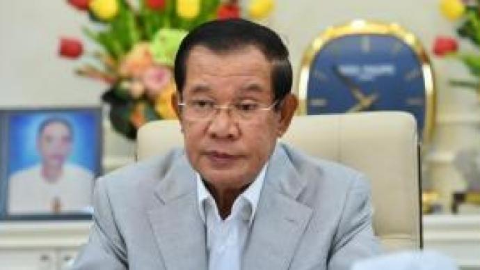 """柬埔寨首相洪森:將接種中國新冠疫苗,是""""柬埔寨第一人"""""""
