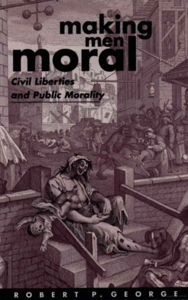 《成人以德:公民自由和公共道德》英文版封面