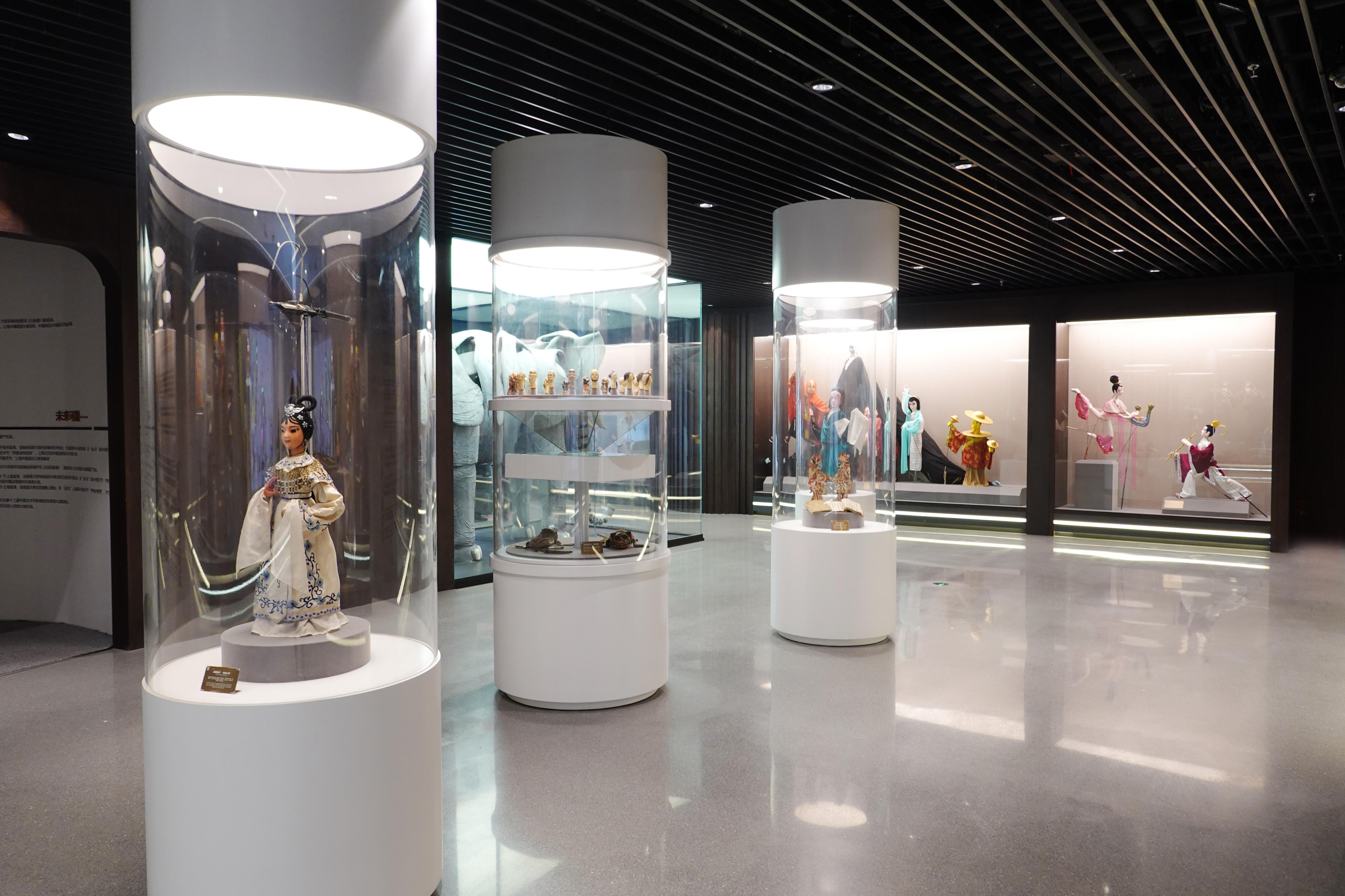 展厅区域上海木偶剧团 供图