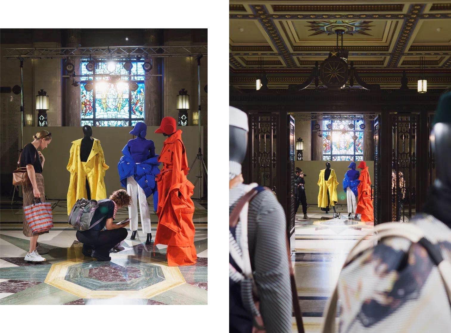 陈丹琪设计的服装系列 陈丹琪及DONSEE10 供图