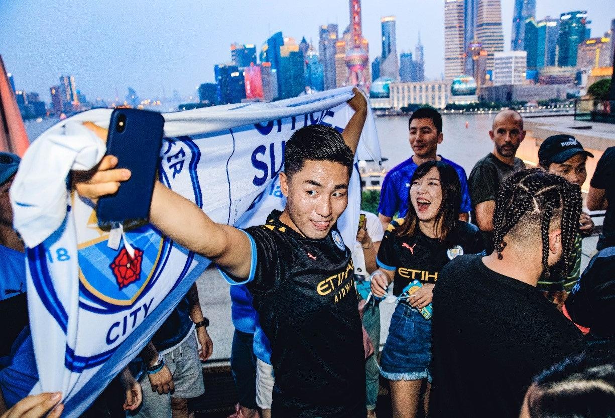 曼城已经在中国拥有众多球迷。