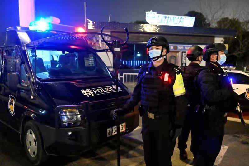 长沙公安集中清理行动 本文图片均来自长沙公安