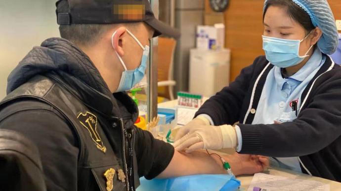 暖闻|响应成都血液中心倡议,成都酷酷的哈雷骑手集体献血