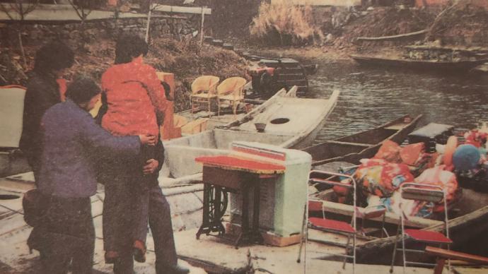 家庭相册④|曾经,小船是我们水乡人家的依靠