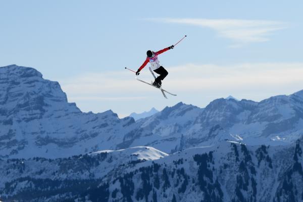 谷爱凌是当今滑雪界的新星。 CFP 图