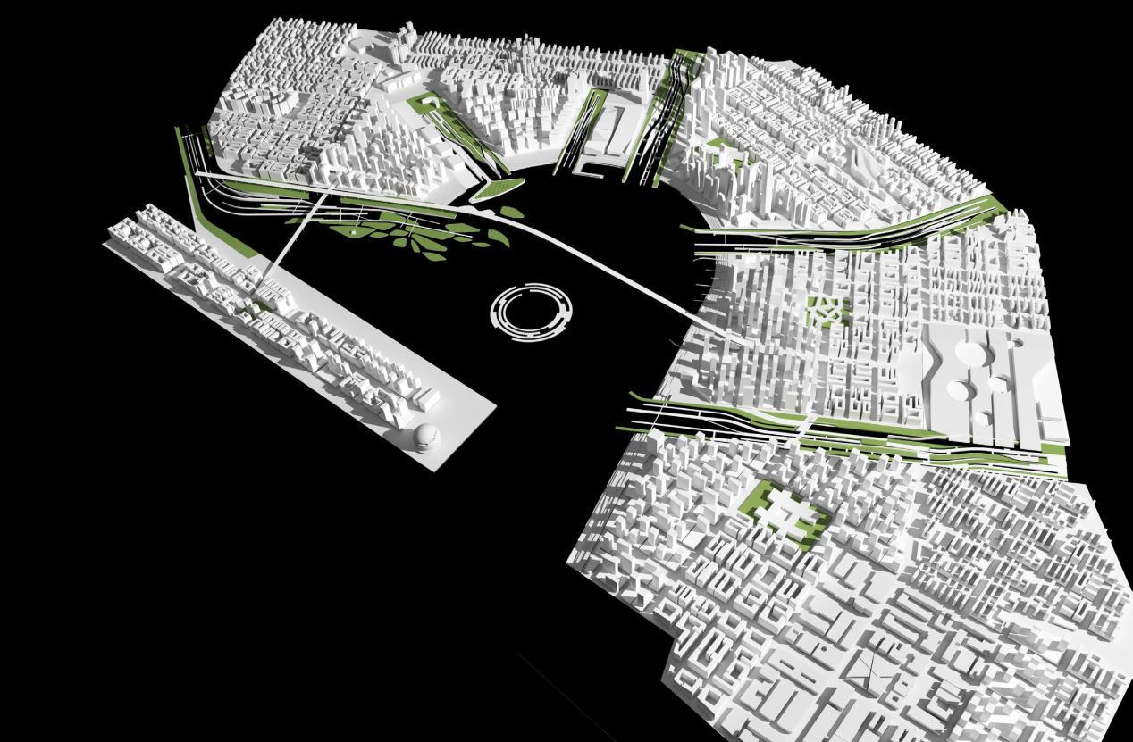 前海水城设计方案 ©Field Operations