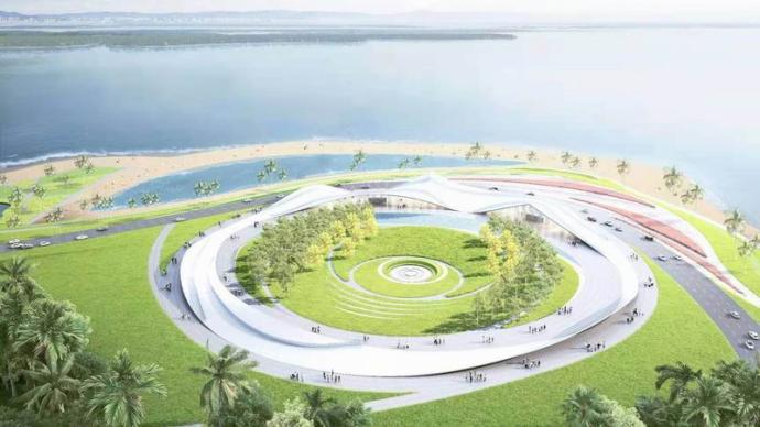 """海口32公里海岸公共艺术""""海边的驿站"""",隈研吾等参与"""