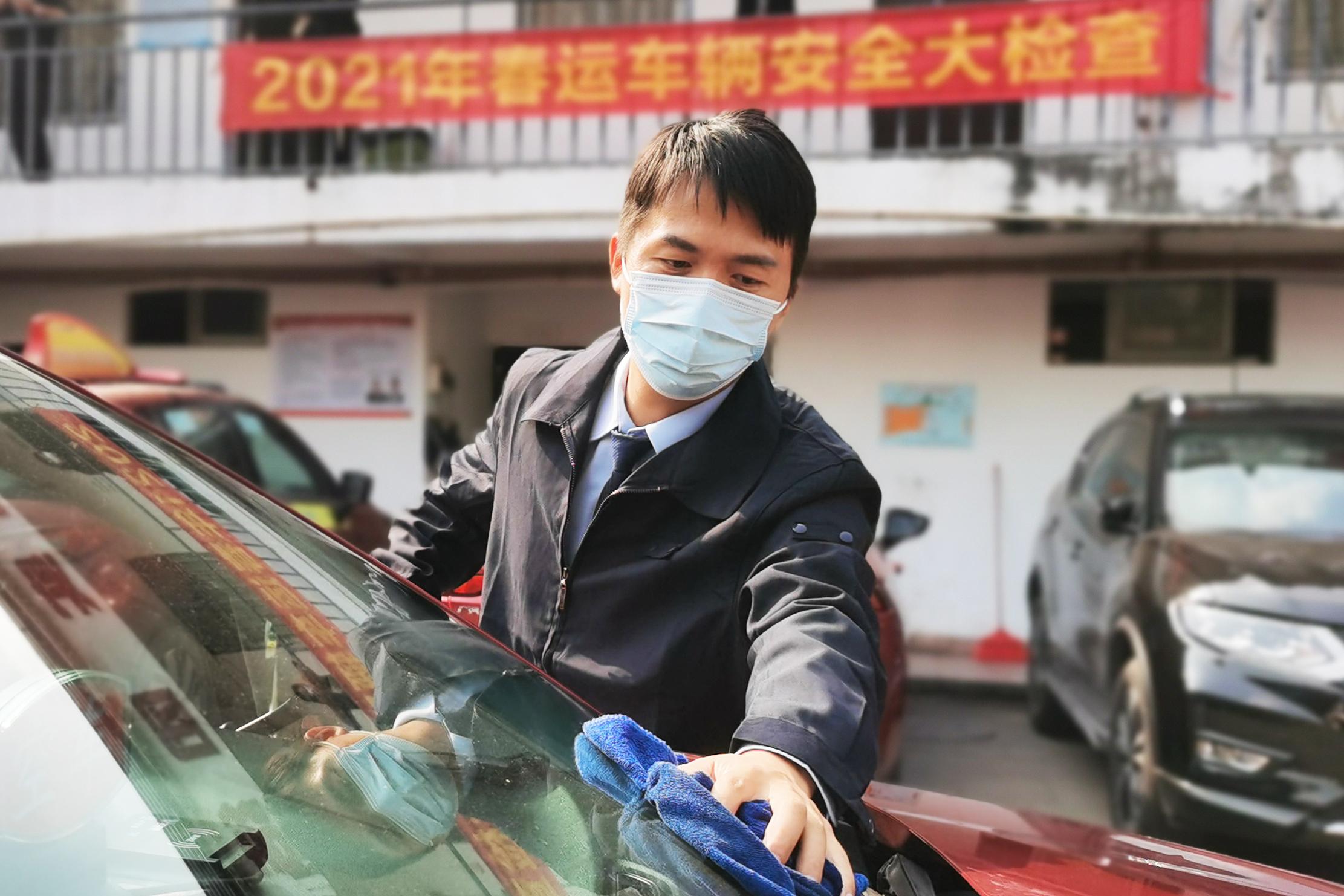 陈宜桂。广州公交集团白云(广交)公司工作人员 供图